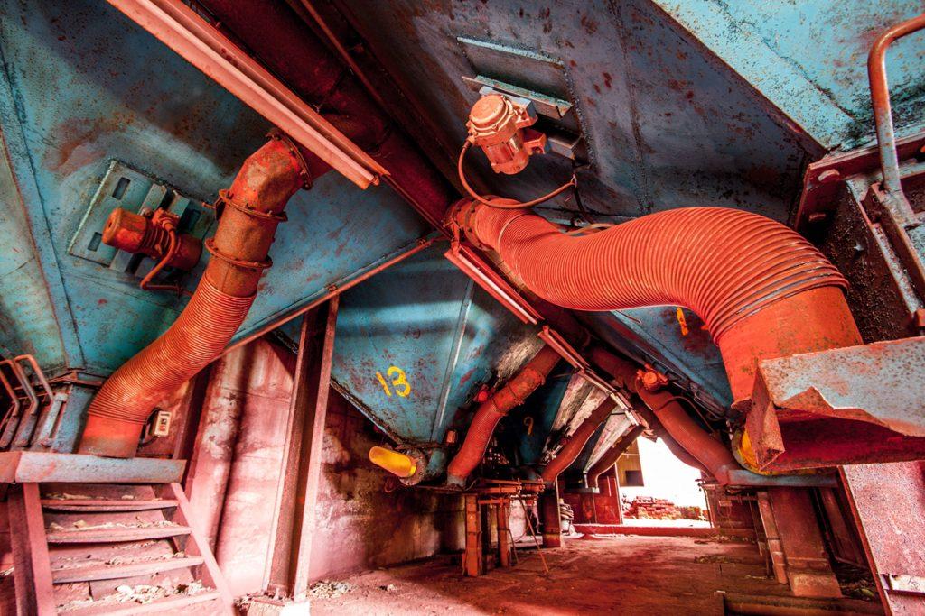 日本弁柄工業 旧和気工場